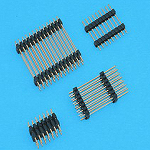 "2.54 x 2.54mm(0.1"" x 0.1"") Double Plastic Base Header - Board to Board Connector"