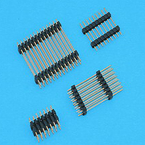 "2.54mm(0.1"") Pin Header Double Plastic Base - Board to Board Connector"