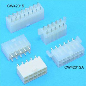 CW4201S, CW4201SA - Wafer connectors