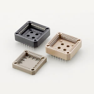 254X-D-xxP-PPS - PLCC Socket (SMT ) - Jaws Co., Ltd.