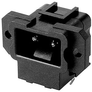 HJC-023-P - AC POWER SOCKET - Kunming Electronics Co., Ltd.