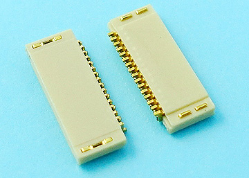 FPC 0.5mm H:1.2  NON-ZIF SMT R/A Dual Contact Type Connector
