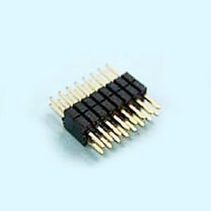 Dual Row 06 to 100 Contacts Straight And Right Angle Type