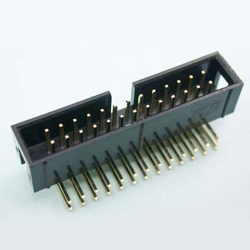 E06 Box Header Dual Row Single Body Straight & Right Angle DIP & SMT TYPE