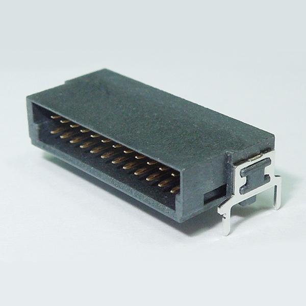 SMC03RD 1.27mm Pitch Male Dual Row Board to Board Connector Horizontal SMT Type w/ Board lock Dip Type ( Har-Flex )