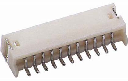 LM123S 1.25 Wire To Board Conn. Low Profile SMT R/A Type