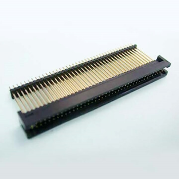 E04 Box Header Dual Row Dual Body Straight DIP & SMT TYPE (W=5.10mm)