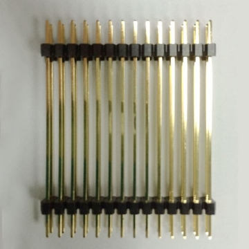 E18 Pin Header Single & Dual Row Dual Body Straight DIP TYPE ( Dual Row:1.27*2.54mm )