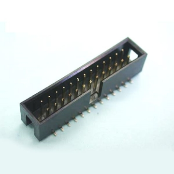 E30 Box Header Dual Row Single Body Straight & Right Angle DIP & SMT TYPE ( 1.27*1.27mm)