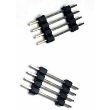 E42 Pin Header Single Row Single Body Straight DIP TYPE