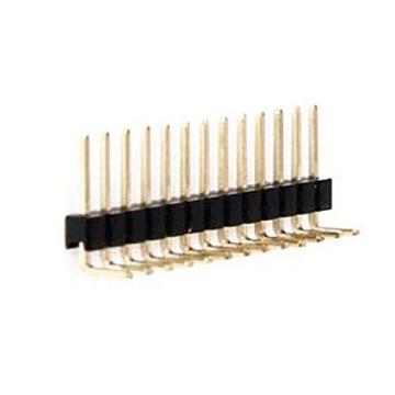 E43 Pin Header Single Row Single Body Straight & Right Angle DIP TYPE