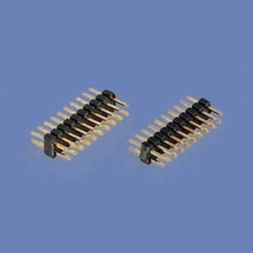 E44 Pin Header Dual Row Single Body Straight DIP TYPE