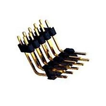 E49 Pin Header Single & Dual Row Dual Body Right Angle DIP TYPE ( Up-Right )