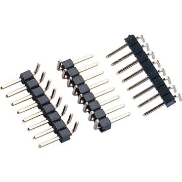 E51 Pin Header Single & Dual Row Single Body Right Angle DIP TYPE ( Reverse Up-Right )