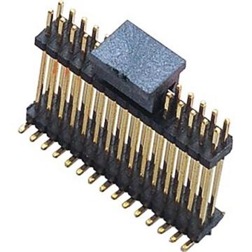 E61 Pin Header Dual Row Dual Body Vertical SMT TYPE