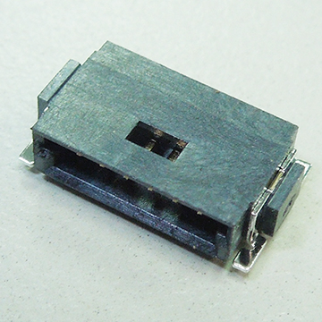 SMC06 1.27mm Pitch Single Board to Board Male Connector Horizontal SMT TYPE (Mini Bridge)