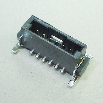 SMC07 1.27mm Pitch Single Board to Board Male Connector Vertical SMT TYPE (Mini Bridge)