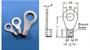 Ring Terminals-Non-Insulated - YEONG CHWEN INDUSTRIES CO.,LTD.