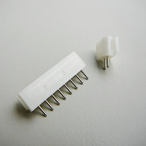 2.5 mm Round Pin Straight Angel Header