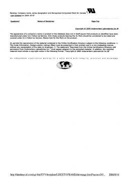 相關認證 UL認證:DUXR8.E131820 P2