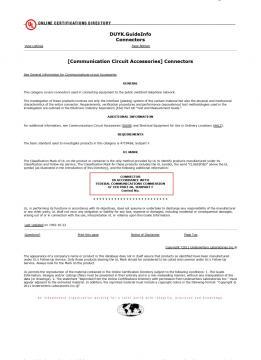 相關認證 UL認證:DUYK.E149026 P2