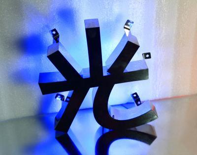 LED發光字 背發光字屬字(藍光)