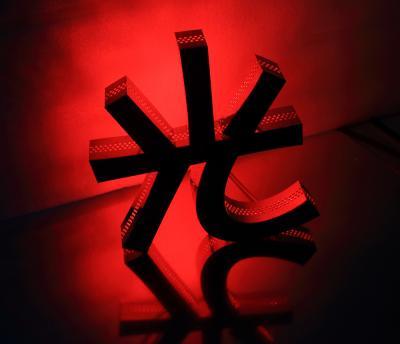 LED發光字 背發光字屬字(紅光)