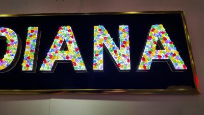 LED發光字 正發光鑽石字