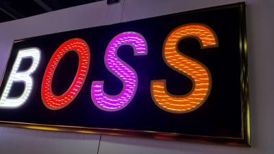 LED發光字 正發光3D炫彩字