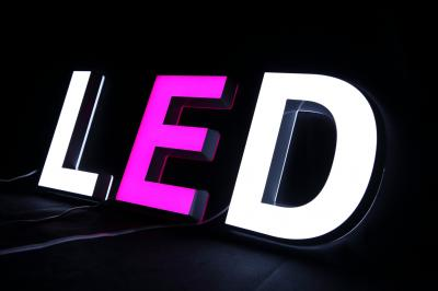LED發光字 正發光迷你字(各色)