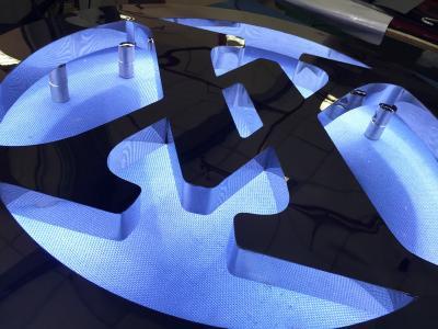 背發光(LW-BA00) LOGO製作-不銹鋼背發光